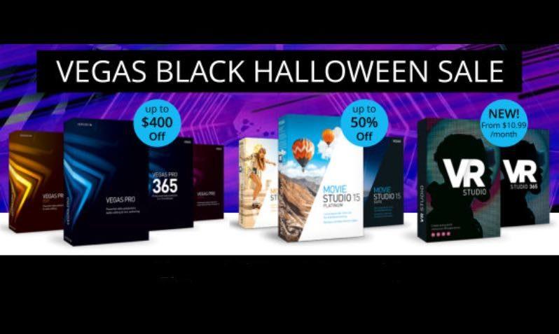 Black Friday deals this Halloween on VEGAS!