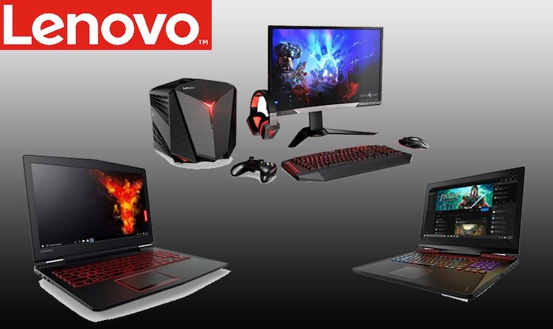Lenovo Gaming and Legion PC's