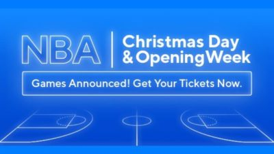 NBA Opening Week and Christmas Day Games Tickets at Ticket Network