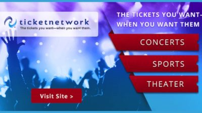 Book Your Tickets Now at TicketNetwork from EDEALO.com