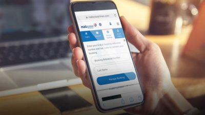 Discount when purchasing tickets on the Malaysia Airlines mobile app!