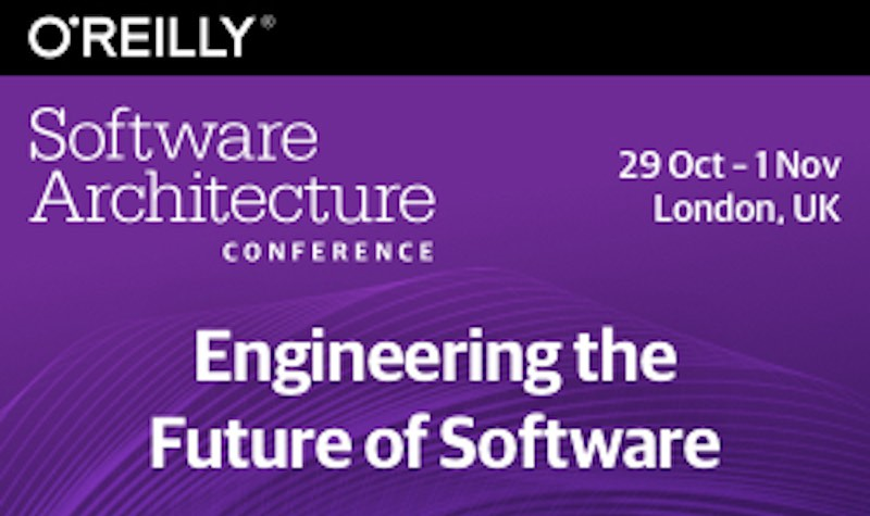 20% O'Reilly Promo Code for Software Architecture Conference in London 2018