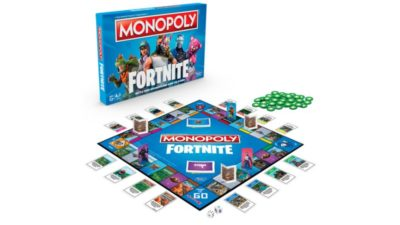 PREORDER Fortnite Monopoly at The Entertainer Toy Shop