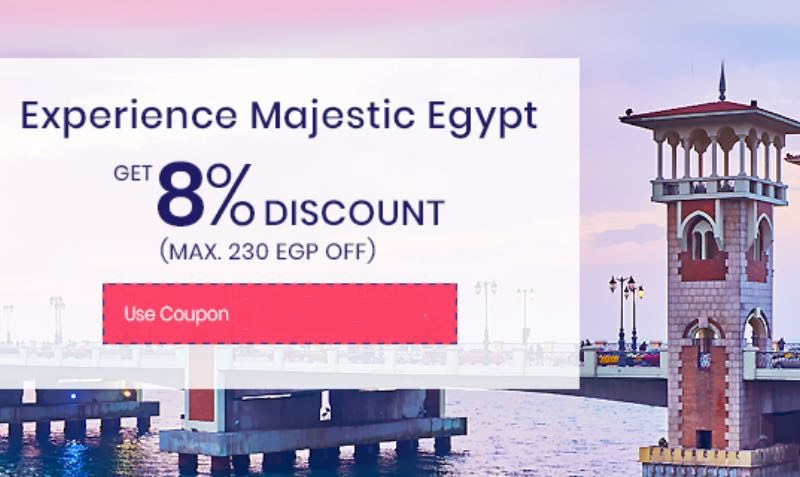 Promo code Domestic bookings on EgyptAir at Rehlat!