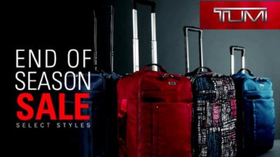 SALE at Tumi