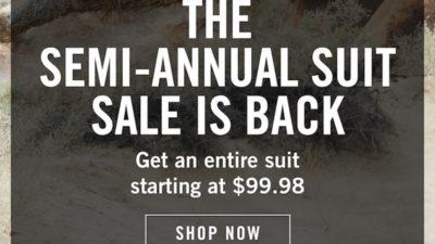 Semi Annual Suit