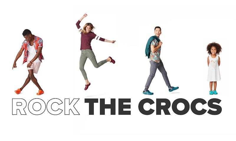 Up To 50% Off This Weekend at Crocs!