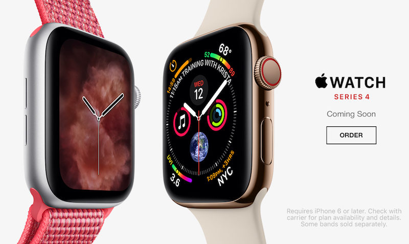 PREORDER Apple Watch Series 4 at Macy's