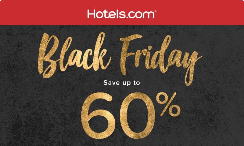 Black Friday Discount SALE at Hotels.com Middle East