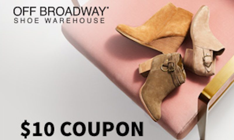 Discount Coupon Promo Code at Off Broadway Shoe Warehouse