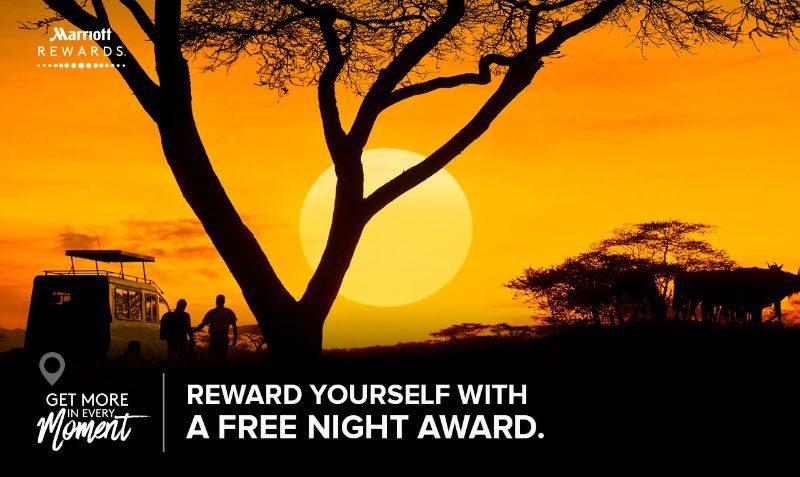 FREE Award NIGHT at Marriott Hotels