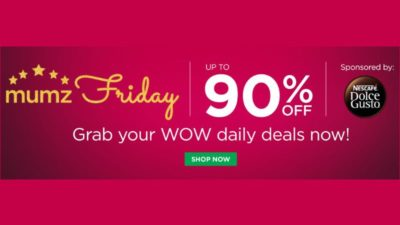 Get Upto 90% off on daily deals at Mumzworld