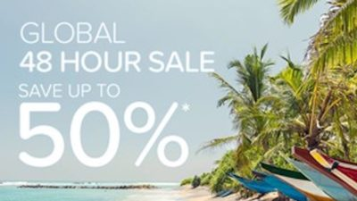 Global 48 Hour SALE at Hotels.com Asia Pacific