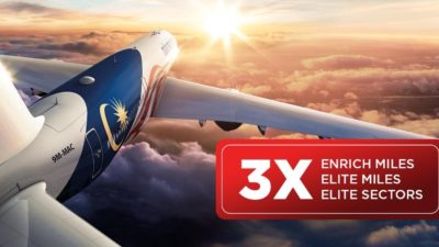 Malaysia Airlines Enrich- Triple