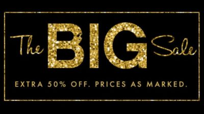The Big Sale at Windsor!