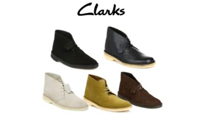 Two Boots for $200 Discount SALE at Clarks