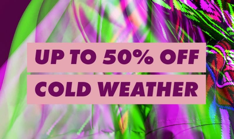 UP TO 50% OFF Cold Weather Styles at ASOS