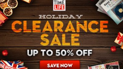 Up to 50% Off Holiday Clearance Sale at TimeLife!
