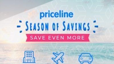 Season of Savings SALE at Priceline