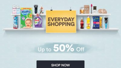 Everyday Shopping 🛒 Best Deals Up to 50% Off