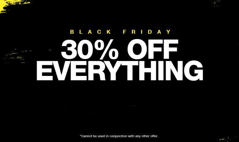 30% off everything at Superdry