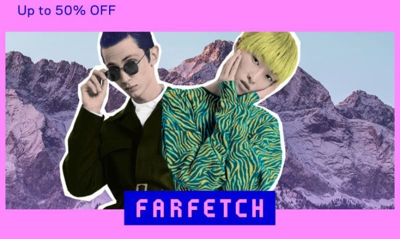 Black Friday Discount Coupon at Farfetch