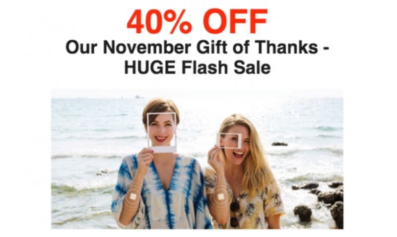 PatchMD is having their biggest Sale for Thanksgiving!