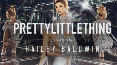 PrettyLittleThing Hailey Baldwin Collaboration LAUNCH at PrettyLittleThing