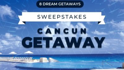 Sweepstakes: Cancun All-Inclusive Resort & 2 Round-Trip Flights!