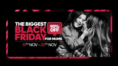 The Biggest Black Friday For Mums - Up To 90% OFF at Sprii