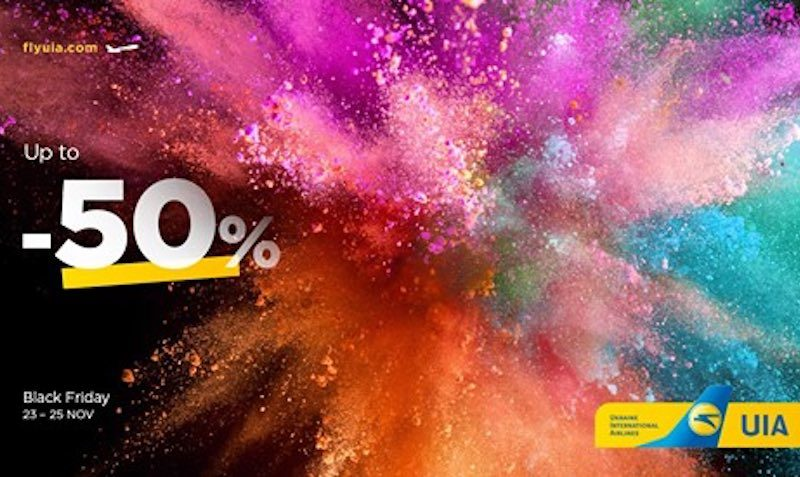 Up to 50% off the price for tickets to almost all UIA destinations!