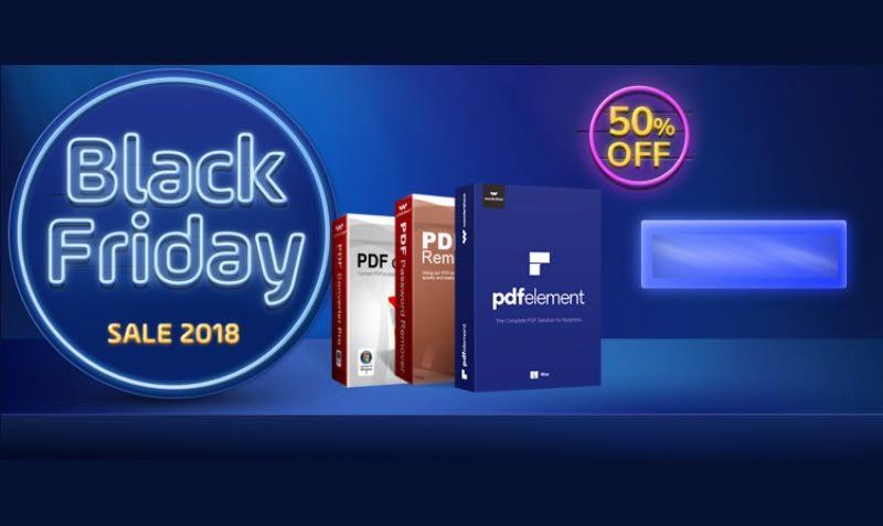 Wondershare Crazy Sales discount code | 50% | Black Friday 2018