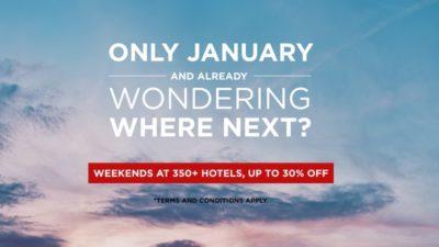 30% Off SALE at Radisson Blu Hotels