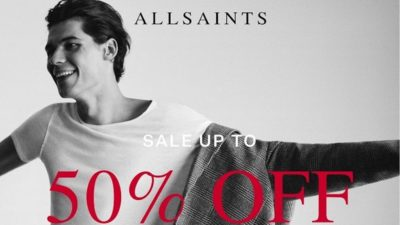 50% Off SALE at All Saints