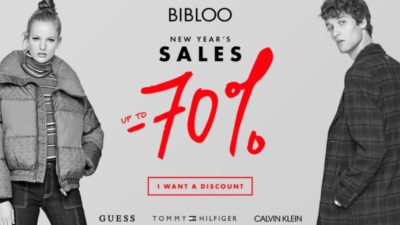70 % off on New Year's Sales at BIBLOO.com!