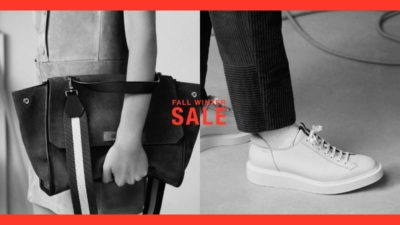 Discount SALE at BALLY