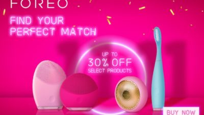 Discount SALE at FOREO UK