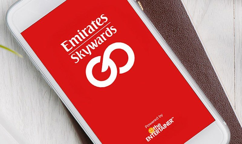 Emirates Skywards, in partnership with the ENTERTAINER, brings you an app filled with discounts and 2-for-1 dining offers