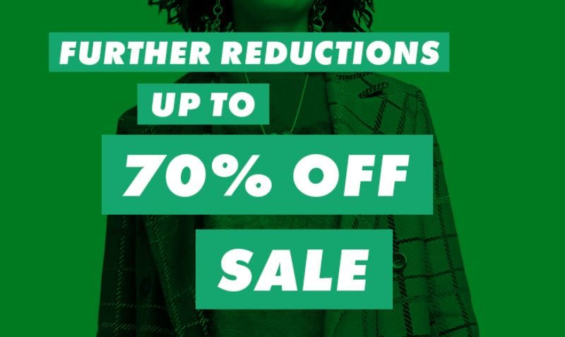 Further Reductions. Upto 70% Off SALE at ASOS