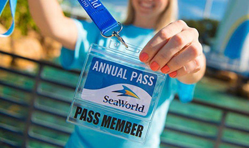 SeaWorld Orlando Gold Annual Pass