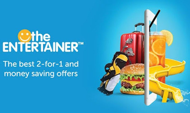 Discount Coupon at The ENTERTAINER App