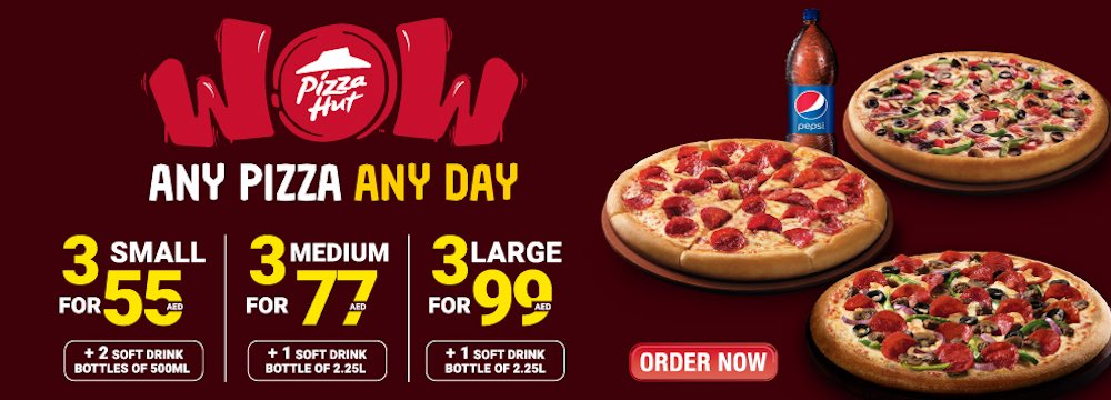 PIZZA HUT OFFER DEAL UAE