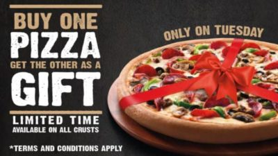 Pizza Hut BOGO UAE