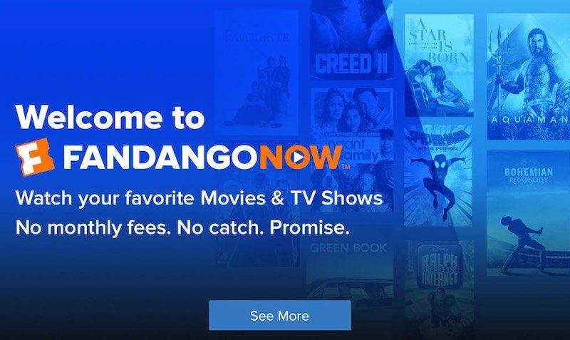 FandangoNOW Flash Backs