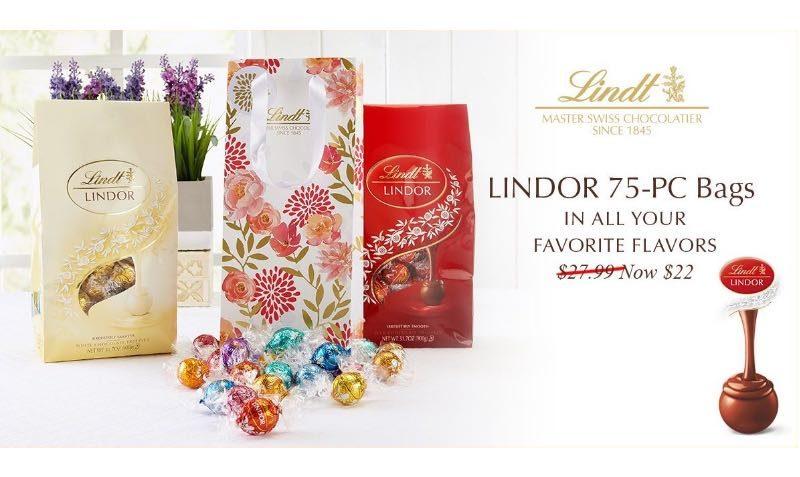 LINDOR Truffles 75-pc
