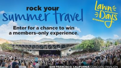 Lawn Days concert experience Hilton Sweepstakes