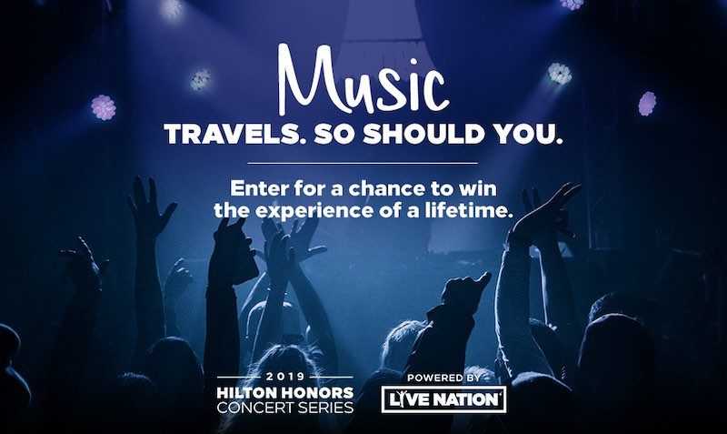 Sweepstakes at Hilton Hotels
