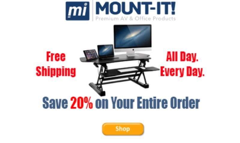 Promo Code at Mount-It