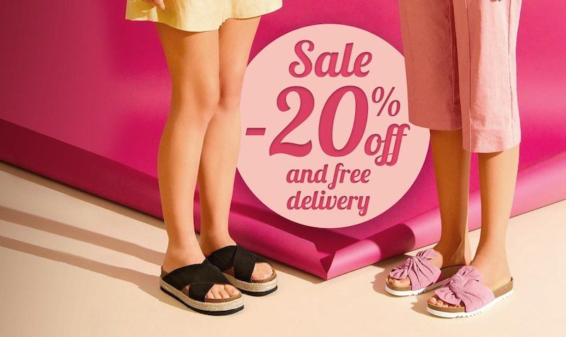 20% Off Discount Coupon at Scholl Shoes