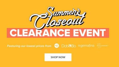 Clearance DEALS at Dot&Bo.com